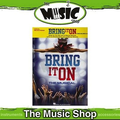 New 'Bring It On' the Musical Vocal & Piano Selections Music Book