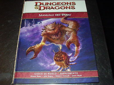 DUNGEONS & DRAGONS-MANUALE DEI PIANI -ITALIANO-D&D