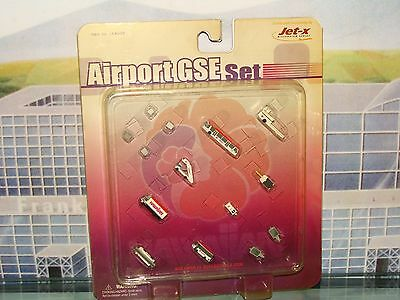 Jet-X / Dragon Wings Hawaiian Airport GSE Set JXA003 1/400 **Free S&H**