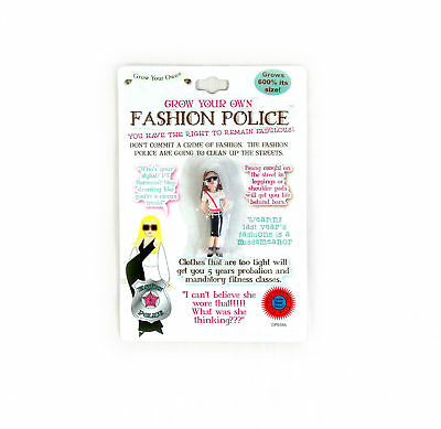 Grow Your Own Fashion Police