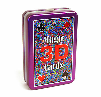 Bygone Games Magic 3D See Through Trick Playing Cards Fun Cheating Deck New