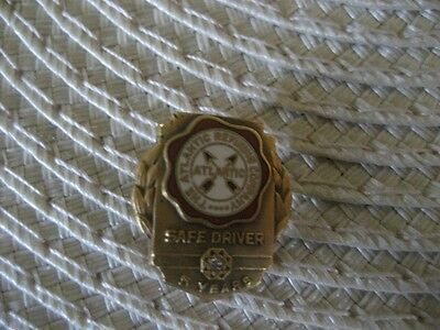 Vintage Atlantic refinery safe driver pin