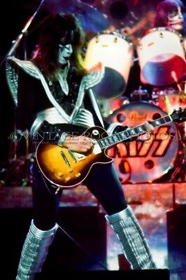 Ace Frehley Poster KISS 12x18 inch Photo '79 Dynasty Tour Live Concert Print 70
