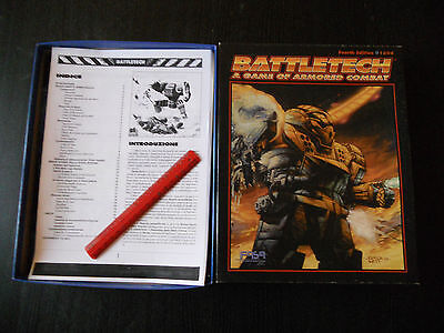 BATTLETECH-A GAME OF ARMORED COMBAT-FOURTH EDITION-1604-TRAD. IN ITALIANO