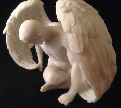 NUDE Male ANGEL Inspirational RESIN Wings GAY INTEREST Birthday