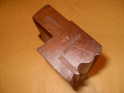 W Parkes Quirk Ogee Moulding Plane -  As Photo