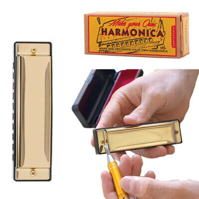 KIKKERLAND MAKE YOUR OWN HARMONICA - DIY Pocket Instrument Fun Gift **NEW**