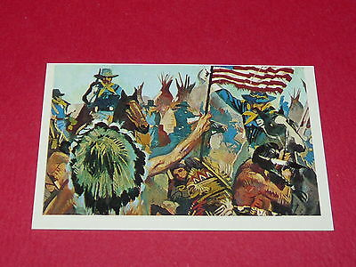 N°307 Seul Bon Indien Mort Conquete Ouest Williams 1972 Panini Far West Western