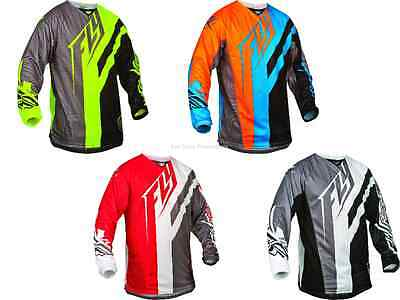 Fly Racing Kinetic Division Jersey Motocross Off-Road Dirt Riding MX/ATV/BMX/MTB