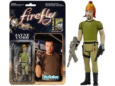 FIREFLY ReAction SDCC EXCLUSIVE JAYNE COBB w/ HAT Vera Retro Style ACTION FIGURE