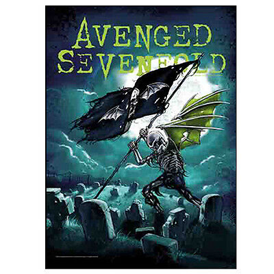 "Avenged Sevenfold Cemetery Skull Tapestry Cloth Poster Flag Wall Banner 30""x40"""