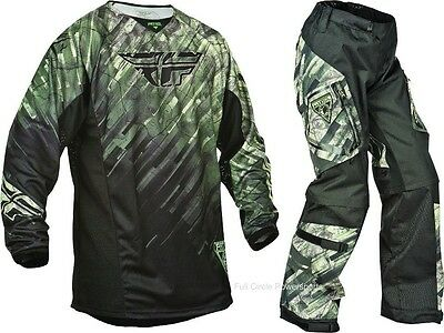 Fly Racing Patrol Camo Jersey & Pant Combo Sizes MX/ATV Offroad Gear Camouflage