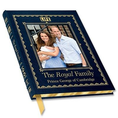 Easton Press Leatherbound THE ROYAL FAMILY BABY Commemorative Book New Sealed