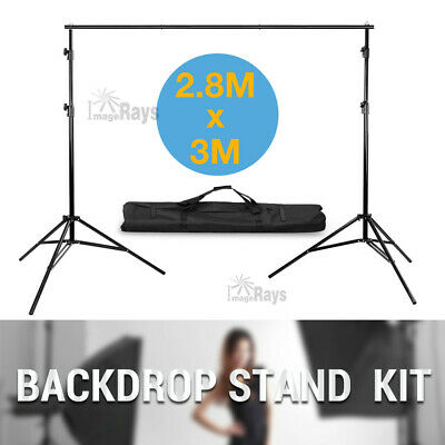 2.8Mx3M Photography Photo Studio Lighting Light Stand Backdrop Background Stand