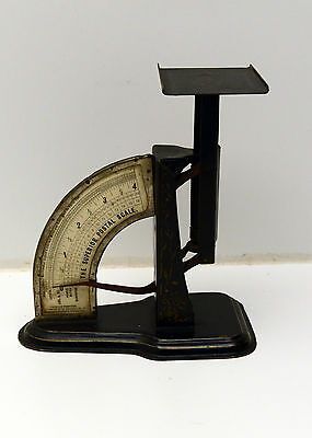 Antique Superior Postal Scale Rare Version with beautiful Ornate Gold Accents