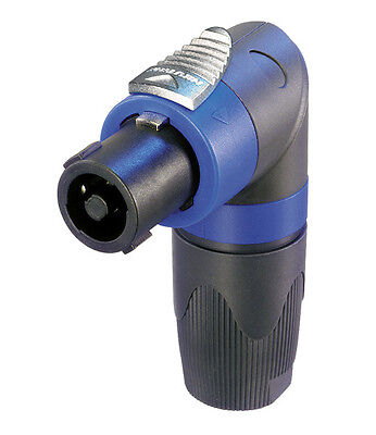 Neutrik NL4FRX SpeakOn Cable Connector Right Angled
