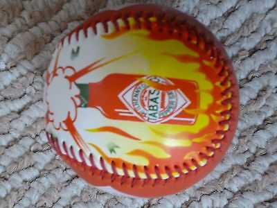 Tabasco baseball . HOT! Never used. Unique item for Chile heads!