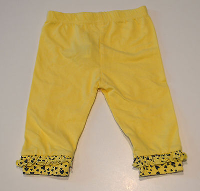 Mothercare Printed Girls Leggings- YELLOW- 6-9 Mths. 12-18 Mths & 18-24 Mths NEW