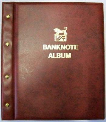 New Maroon Cover VST Banknote Album