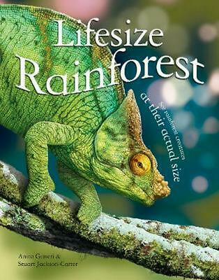 Lifesize Rainforest by Anita Ganeri (English) Hardcover Book Free Shipping!