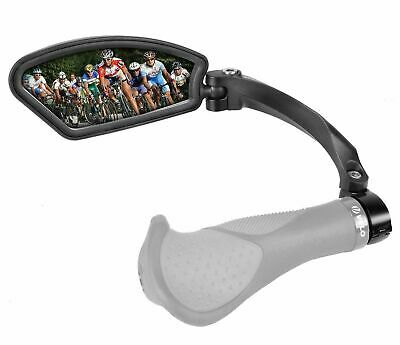 Venzo Bicycle Bike Handlebar Stainless Steel Mirror Left