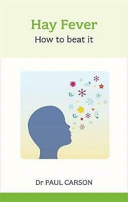 Hay Fever: How To Beat It by Paul Carson (English) Paperback Book Free Shipping!