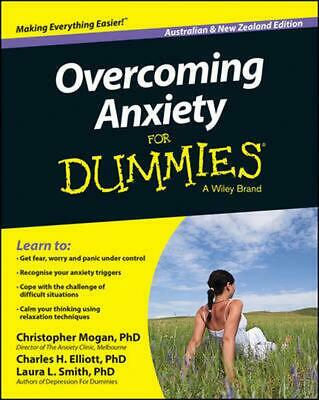 Overcoming Anxiety For Dummies by Christopher Mogan Paperback Book (English)