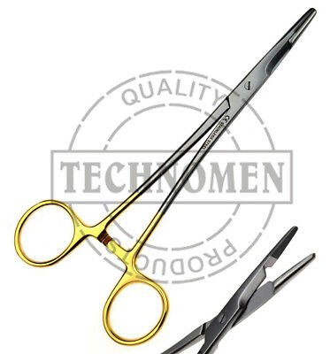 16cm TC TUNGSTEN OLSEN HEGAR SURGICAL DENTAL VETERINARY FORCEPS NEEDLE HOLDER