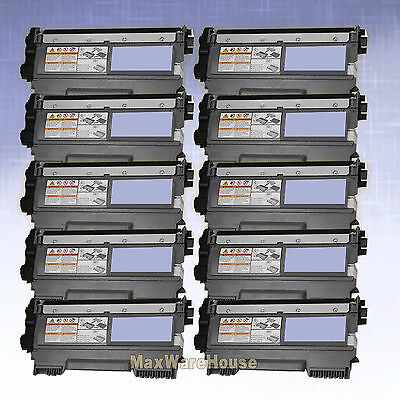 10PK Toner TN-450 for Brother DCP-7065DN HL-2220 HL-2230