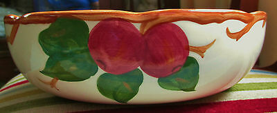 FRANCISCAN APPLE 8 AND 1/2 INCH VEGETABLE BOWL USA