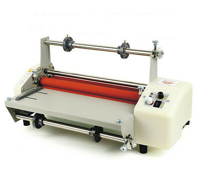"13"" (330mm) A3 8350 Four Rollers Hot and cold roll laminating machine 110V Y"