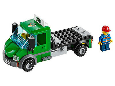 LEGO City Green Truck Lorry with Driver Brand New from set 60052