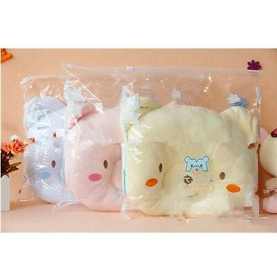Newborn Baby Boy Girl Anti-roll Pillow Flat Head Sleeping Positioner Bear 1pcs