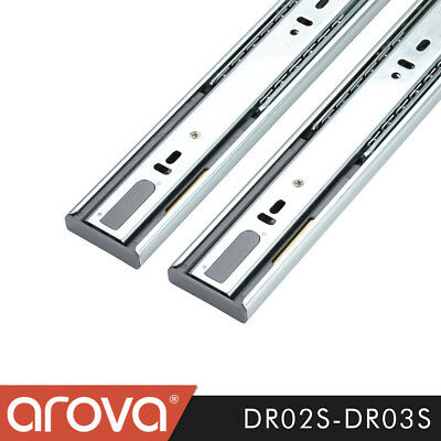 Full Extension Soft Close Ball Bearing Drawer Runners Slides DR03S Smooth Glide