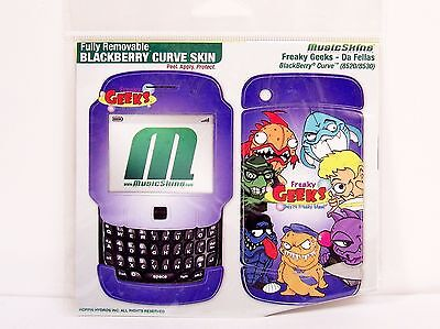 BLACKBERRY CURVE SKIN 8520/8530 MUSIC SKINS Removable FREAKY GEEKS Da Fellas