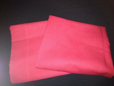 2 Pottery Barn Kids Red drape panels 44x84 Set