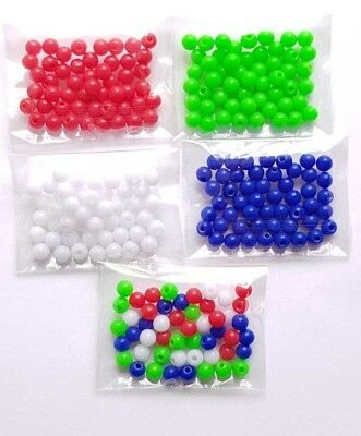 GREAT VALUE 5/10/50 14G Replacement 4mm Acrylic Balls Eyebrow etc *UK SELLER