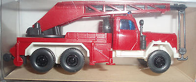 WIKING 1988 Germany 1:87 Magirus KW 15 Fire Crane Truck 630 MiB Very RARE !!
