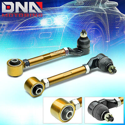 98-02 ACCORD CG/CL/TL GOLD ADJUSTABLE REAR CAMBER CONTROL SUSPENSION KIT/ARM