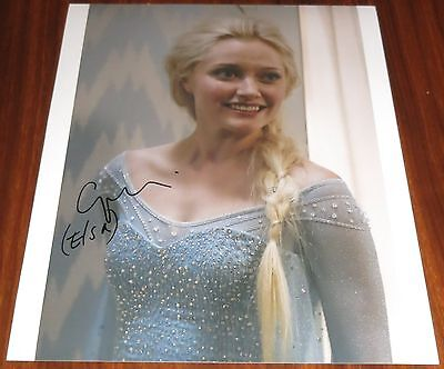 Georgina Haig Signed 11x14 Once Upon a Time Elsa Frozen Exact Proof