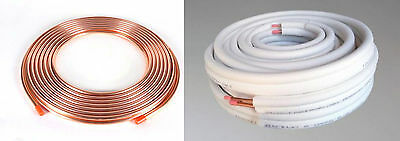 Insulated Pair Coil Soft Copper Coil Tube Air Conditioner Con Pipe Roll Twin