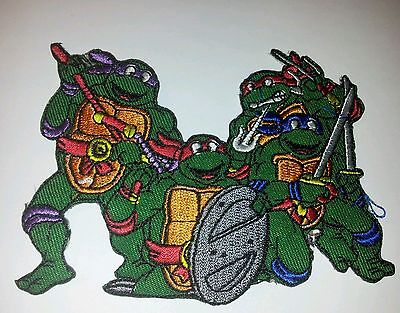 Teenage Mutant Ninja Turtle Embroidered Patch