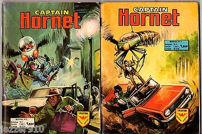 # CAPTAIN HORNET n°1 & 2 # 1975 AREDIT