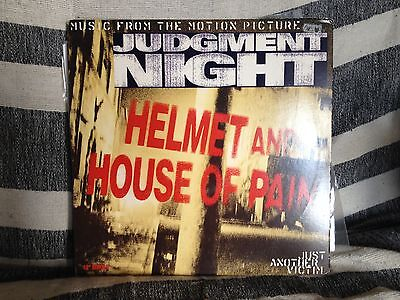 """Helmet and House of Pain-Just Another Victim 12""""-JUDGEMENT NIGHT-US ISSUE VINYL!"""