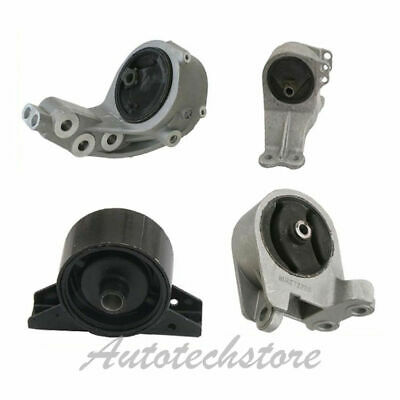 Fits 01-05 Dodge Stratus 3.0L Engine Motor /& Trans Mount 4PCS for Manual M244