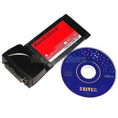 US Store 32-Bit Pcmcia Card to LPT Parallel Port Adapter for Laptop Notebook