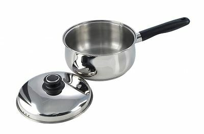 Pendeford Stainless Steel Sauce Pan With Lid 16cm