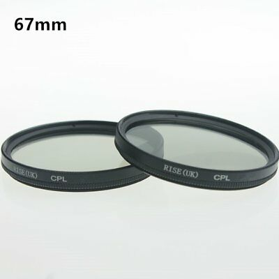 67mm CPL Polarizing Lens Filter for Canon Nikon Sony Pentax Sigma Olympus