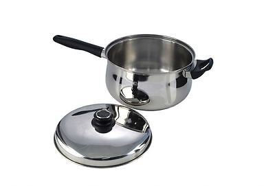 Pendeford Stainless Steel Collection Sauce Pan With Lid 22cm