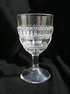 Persian (Three story) Goblet EAPG